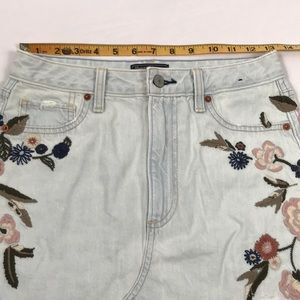 Abercrombie & Fitch Skirts - Abercrombie- Vintage embroidered A-line skirt, 2